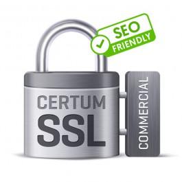 Certyfikat CERTUM Commercial SSL