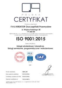 iso 9001-2015 kreator